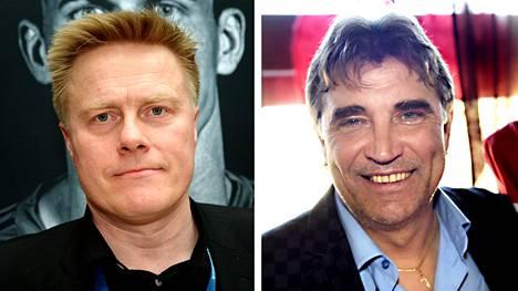 Tommi Kautonen (vas.) ja Alexei Eremenko.