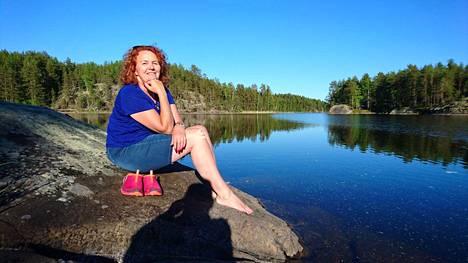 Saksalainen Petra Thar kävi Saimaalla Linnansaaren kansallispuistossa vuonna 2016, ja haluaisi tänäkin kesänä Suomeen.