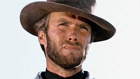 Clint Eastwood elokuvassa Hyvät, pahat ja rumat (1966).
