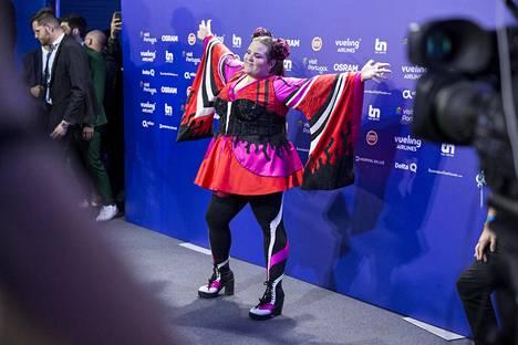 Israelin Netta voitti lauantai-iltana vuoden 2018 Euroviisut ja nautti tilanteesta täysillä.
