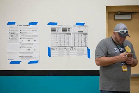 Vaalipiirin 4017 tulokset kirjattiin taulukkoon. Bernie Sanders sai 31 ääntä ja toiseksi tullut Pete Buttigieg 10 ääntä.