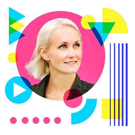 Emma Vainio tutkailee uudessa sarjassaan muotoja.