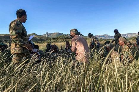 Amharakansan puolisotilaalliset joukot saivat toissa viikolla Bahir Darin kaupungin pohjoispuolella koulutusta taistellakseen Etiopian liittovaltion ja Amharan osavaltion asevoimien rinnalla Tigrayn osavaltion joukkoja vastaan.