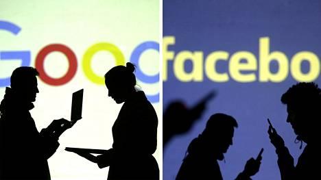 Googlen hallitsema hakumainonta ja Facebookin kaltaisten palvelujen somemainonta kasvoivat tammi-maaliskuussa Suomessa nopeasti.
