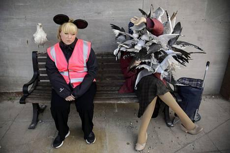 Dismalandin hämmennyspuistossa nähtiin vuonna 2015 muun muassa puiston työntekijä ja nainen, jonka kimppuun lokit olivat hyökänneet.