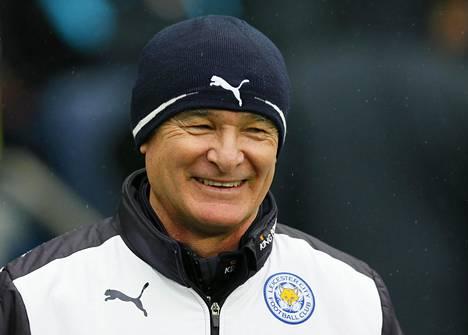 Claudio Ranieri on vienyt Leicesterin Valioliigan kärkeen.
