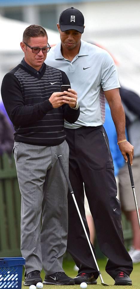 Sean Foley ja Tiger Woods.