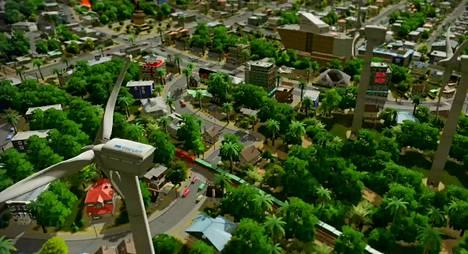 Cities: Skylinesissa rakennetaan kaupunkeja.