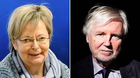 Liisa Jaakonsaari tukisi presidentiksi Pekka Haavistoa, Erkki Tuomioja puolestaan Sauli Niinistöä.