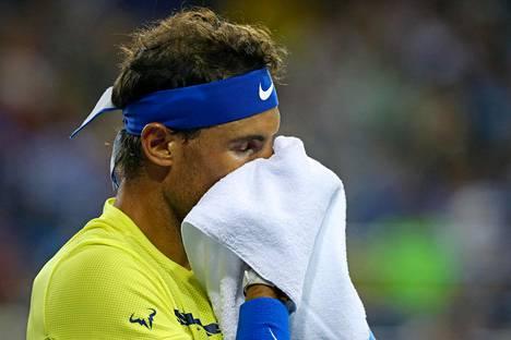 Rafael Nadal palaa kolmen vuoden tauon jälkeen miesten tenniksen maailmanlistan ykköseksi. Kuva elokuun 18. päivältä Western and Southern Open -turnausksesta.