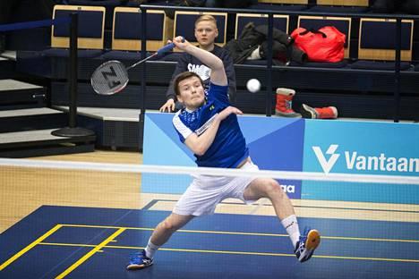 Kalle Koljonen voitti kaksi viikkoa sitten Suomen mestaruuden Vantaalla.