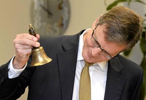 Valmet listautui tammikuussa pörssiin. Kuvassa toimitusjohtaja Pasi Laine.