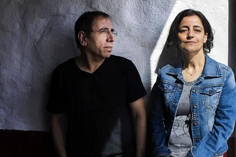 Mohsen Makhmalbaf ja Marzieh Meshkini esittelivät tuotantoaan Sodankylän elokuvajuhlilla.
