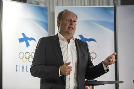 Suomen olympiakomitean pääsihteeri Mika Sulin