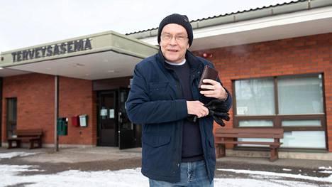 Hannu Myllylä kävi Turengin terveysasemalla Janakkalassa. Hän kehuu sen palvelua.