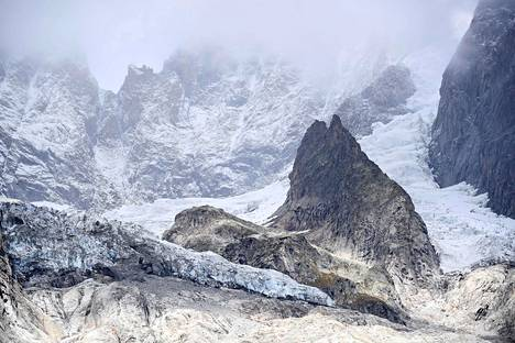 Planpincieuxin jäätikkö on liikkunut elo- ja syyskuun aikana noin 50–60 senttimetriä päivässä.