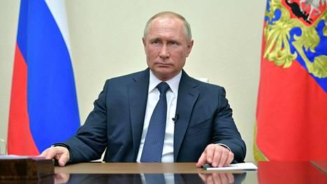 Venäjän presidentti Vladimir Putin piti torstaina toisen televisiopuheensa koronaviruskriisin aikana.