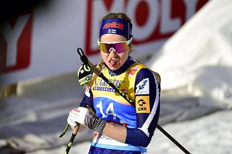 Laura Mononen oli tiistaina neljästoista.