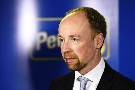 Jussi Halla-aho nousi perussuomalaisten puheenjohtajaksi vuonna 2017.