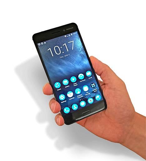 Tässä puhelimessa on Nokia tune.