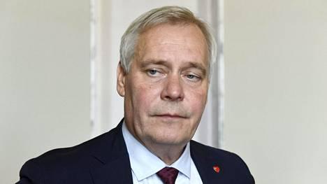 Pääministeri Antti Rinne