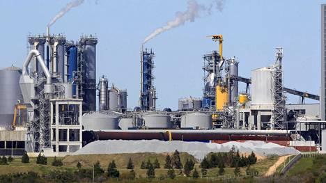 UPM:n sellutehdas Fray Bentosissa Uruguayssa.