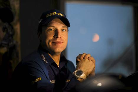 Jari-Matti Latvala on Monte Carlon MM-rallissa kolmantena.