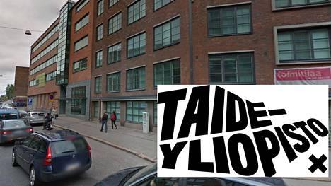 Kahden Taideyliopiston Kuvataideakatemiassa työskentelevän taideprofessorin määräaikaiset työsuhteet muuttuvat pysyviksi. Kuvassa Kuvataideakatemian rakennus Helsiingin Vallilassa.