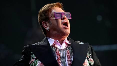 Elton Johnin massiivinen jäähyväiskiertue alkoi syyskuussa 2018. Kuva on Sveitsistä viime kesältä.