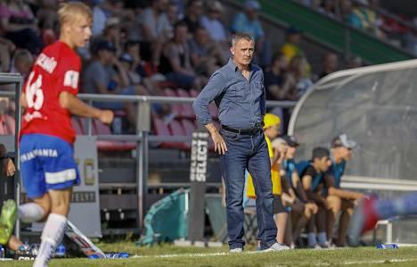 David Hannah sai potkut PS Kemin päävalmentajan paikalta kesken kauden.