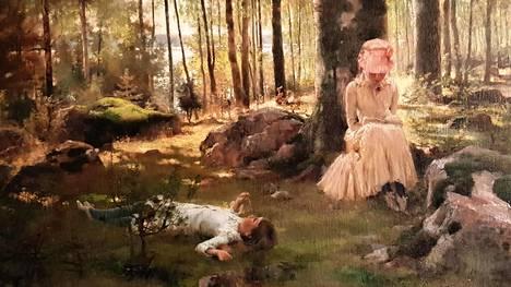 Albert Edelfelt (1854–1905): Koivujen alla.