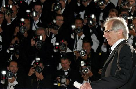 Ohjaaja Ken Loach voitti Cannesin elokuvajuhlien pääpalkinnon Kultaisen palmun elokuvallaan I, Daniel Blake.