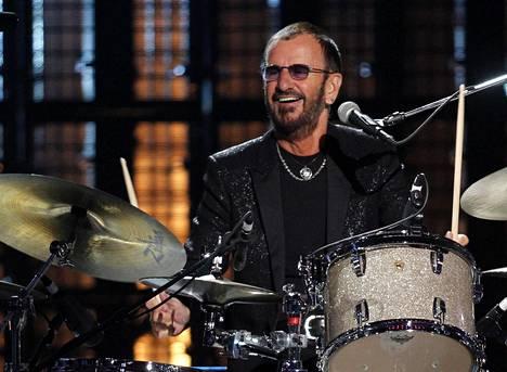 Rumpali Ringo Starr on ollut soolouralla The Beatlesin hajoamisesta lähtien.