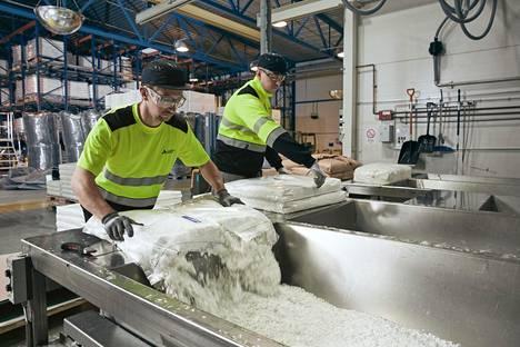 Ahlstrom-Munksjö Tampereen tehdas.