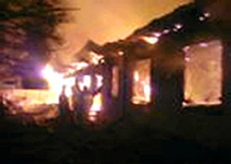 Psykiatrinen sairaala paloi Moskovan pohjoispuolella Venäjällä perjantain vastaisena yönä.