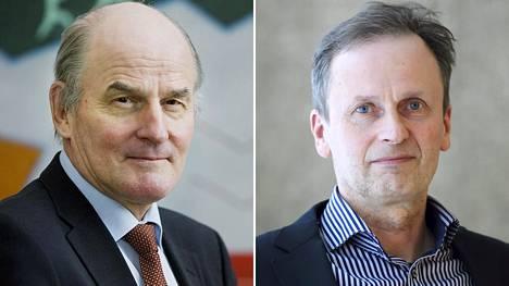 Itä-Suomen yliopiston professori Matti Tolvanen (vas.) ja Helsingin yliopiston professori Kimmo Nuotio sanovat, että sakkovankeusjärjestelmässä on ongelmia.