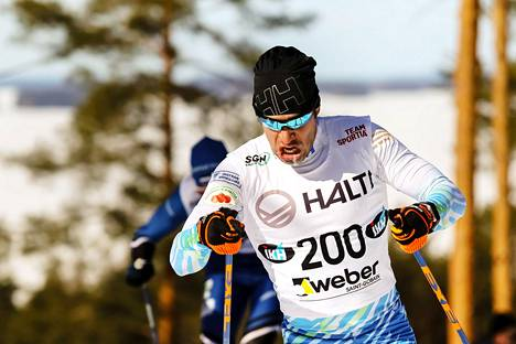 Lari Lehtonen sai uransa kolmannen yleisen sarjan Suomen mestaruuden.