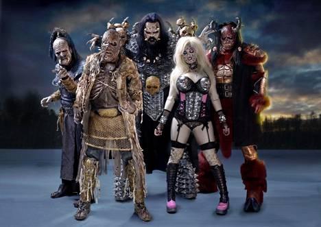 Lordi-yhtye on tunnettu musiikkinsa lisäksi näyttävistä ja pelottavista esiintymisasuistaan.