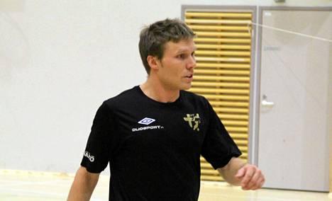 Futsalmaajoukkueen kapteeni Panu Autio joutui pettymään pahasti.