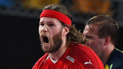 Mikkel Hansen johti Tanskan maailmanmestariksi.