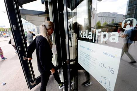 Kelan toimisto Helsingissä.