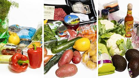 Kaikissa testatuissa ruokakasseissa oli reseptit ja ainekset kolmeen ateriaan nelihenkiselle perheelle.