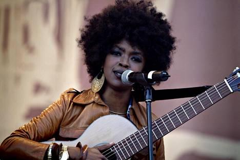 Lauryn Hill esiintyi viimeksi Pori Jazzissa 24. heinäkuuta 2005.
