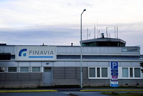 Kokkola-Pietarsaaren lentoasema Kruunupyyssä 12. lokakuuta 2020.