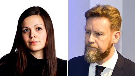 Sonja Saarikoski ja Kaarlo Hildén.