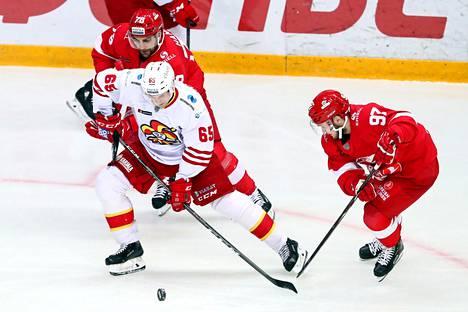 Jokerit kärsi tappion ottelussa Moskovan Spartakia vastaan KHL-ottelussa keskiviikkona.