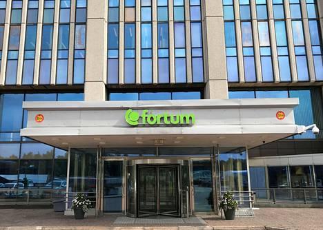 Fortumin pääkonttori Espoossa kuvattuna elokuussa 2017.