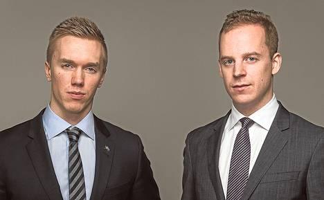 Ruotsidemokraatit erottivat William Hahnen ja Gustav Kasselstrandin puolueesta.