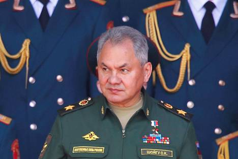 Venäjän puolustusministeri Sergei Šoigu.