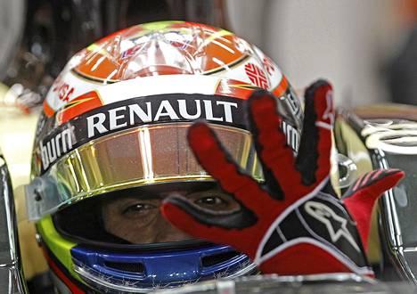 Lotuksen Pastor Maldonadon autoon joudutaan taas vaihtamaan moottori.